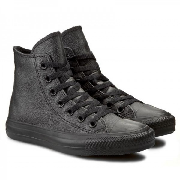 Tenisi CT HI BLACK MONO LEATHER - 135251C
