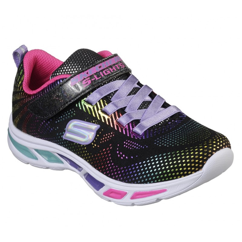 Pantofi sport SKECHERS LITEBEAMS-GLEAM N'DREAM 10959L BKMT