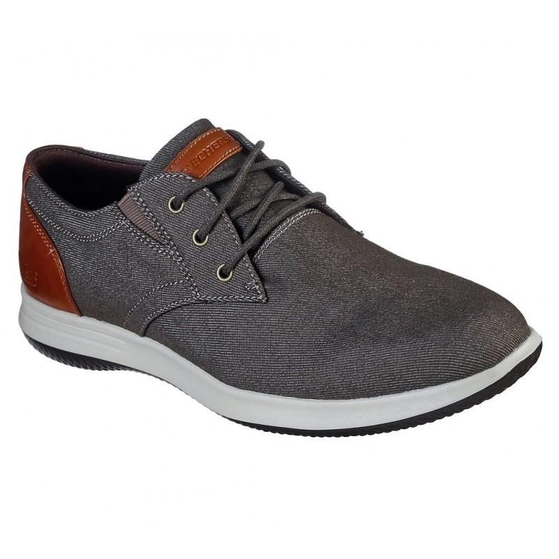 Pantofi sport SKECHERS DARLOW - REMEGO 204092 CHOC