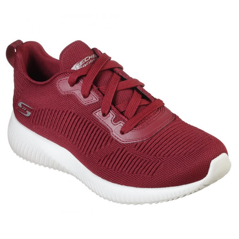 Pantofi sport SKECHERS BOBS SQUAD - TOUGH TALK 32504 RED