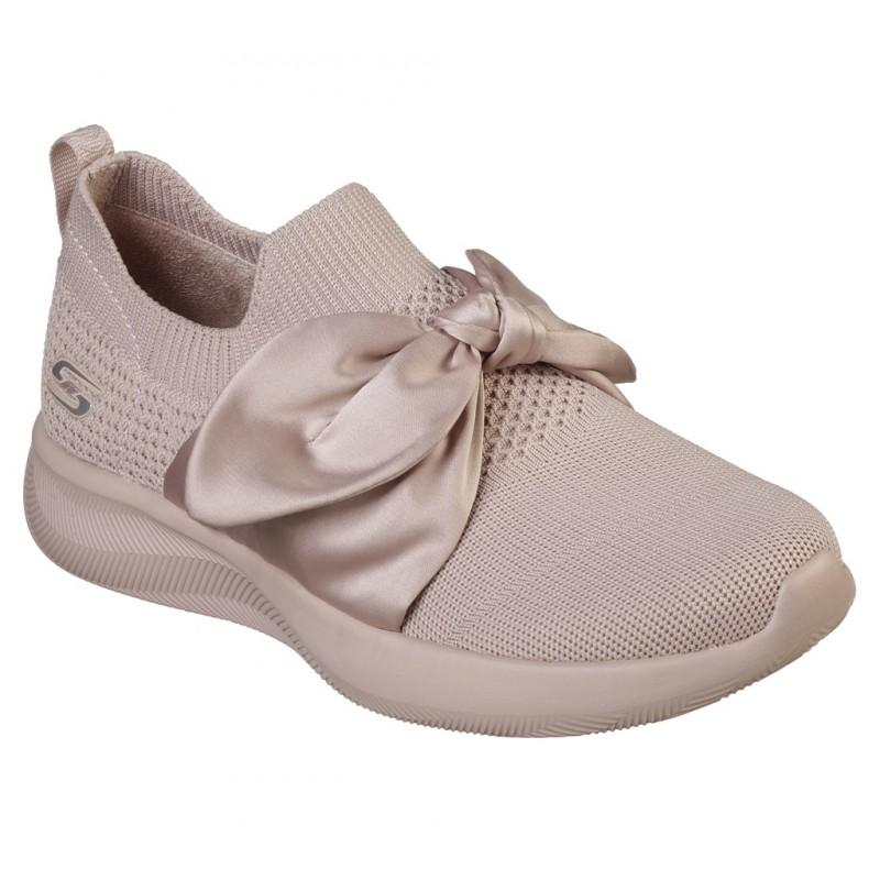 Pantofi sport SKECHERS BOBS SQUAD 2-BOW BEAUTY 32802 PNK