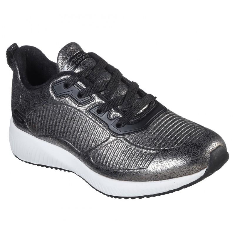 Pantofi sport SKECHERS BOBS SQUAD - SPARKLE LIFE 33155 PEW