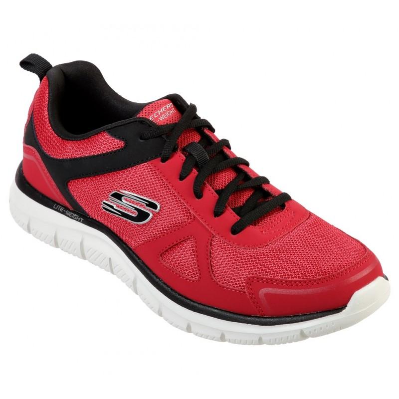 Pantofi sport SKECHERS TRACK- SCLORIC 52631 RDBK