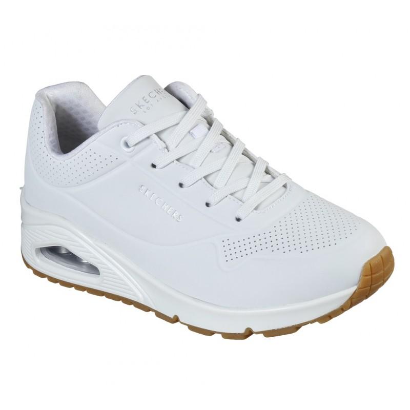 Pantofi sport SKECHERS UNO -STAND ON AIR 73690 WHT