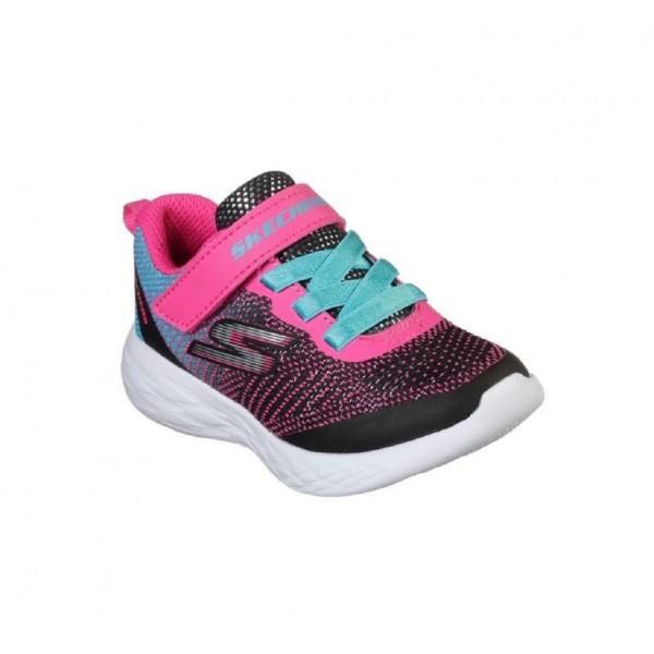 Pantofi sport SKECHERS GO RUN 600-DAZZLE STRIDES 82050N BKMT