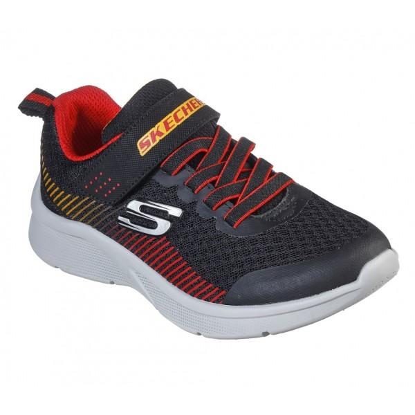 Pantofi sport SKECHERS MICROSPEC - GORZA 97535L BKRD